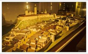 Модель аббатства в Мельке (1:100).