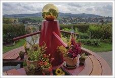 Монастырский огород и хитрый фонтан.
