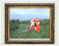 """К. А. Коровин """"Северная идиллия"""" (1892)."""
