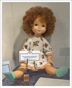 Зеленоглазая кукла Олечка.