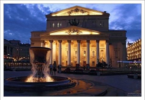 Здание Большого театра.