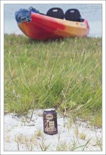 Пикник на одном из островов во время сплава на каяках.
