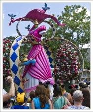 "Платье Золушки ""Cinderella Pretty in Pink"" на параде."