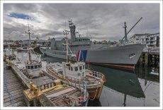 Патрульный сторожевой корабль Óðinn. В настоящее время на борту морской музей.
