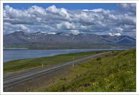 Главная дорога #1 в Исландии.