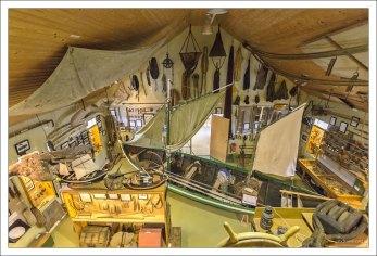 В музее Hnjotur - Minjasafn Egils Olafssonar собрана уникальная коллекция предметов обихода жителей Западных фьордов.