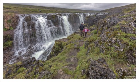 25-метровый водопад Kolufoss.
