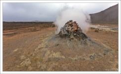 Выход газа через сольфатары и фумаролы является поствулканическим явлением.