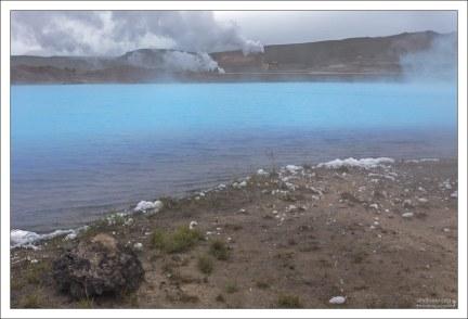 В Исландии сегодня действуют пять геотермальных электростанций общей электрической мощностью 570 МВт, которые производят 25 % всей электроэнергии в стране.