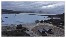 Водоснабжение лагуны идет прямо из скважины Национальной энергетической компании в Бьярнарфлаге.