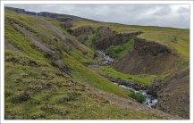 Каньон, созданный рекой Хенгифоссау.