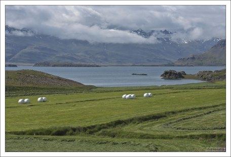Восточный полуостров Búlandsnes peninsula.