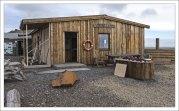 """Кафе """"Viking"""" на полуострове Stokksnes."""