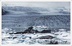 Ледник Фьядльсйёкюдль.