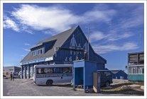 Офис туристического оператора World of Greenland.
