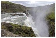 Водопад Гюдльфосс находится на реке Хвитау на юго-западе Исландии.