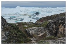 Якобсха́вн - крупный выводной ледник в Западной Гренландии, который заканчивается в Илулиссат-Исфьорде.