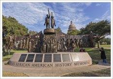Мемориал истории афроамериканцев в Техасе - это памятник на открытом воздухе, посвященный влиянию афроамериканцев в Техасе, установленный на территории Капитолия штата Техас в Остине.