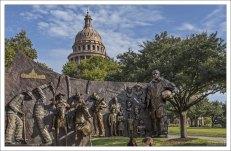 Мемориал описывает историю техасских афроамериканцев с 1500-х годов до наших дней.