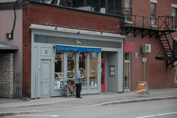 Ottawa French Baker Byward Market