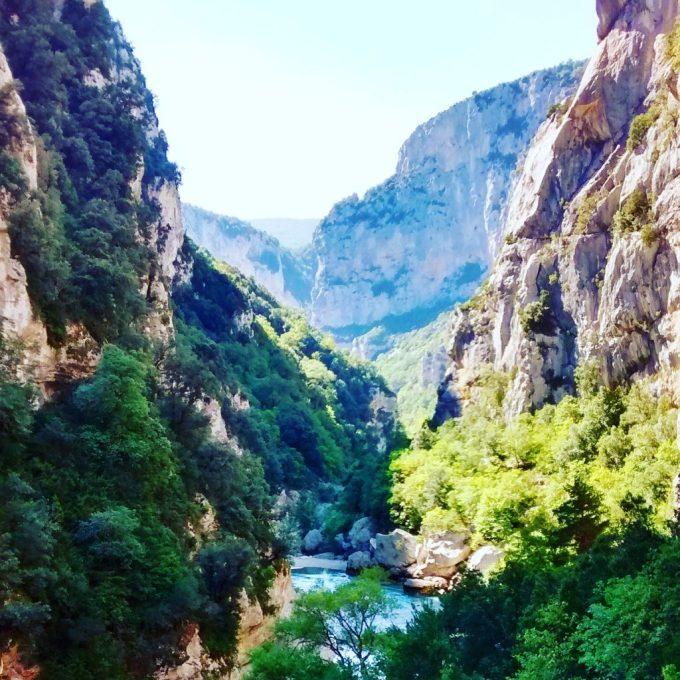 Within the Verdon Gorge