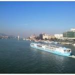vedere spre Budapesta de pe podul Elisabeta