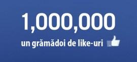 un milion de like-uri