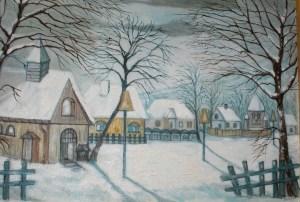 tablouri_de_iarna_secarea_robert_iarna_in_sat