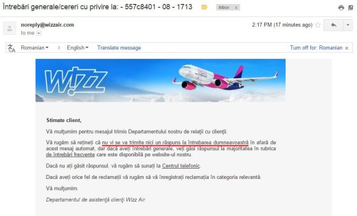 wizzair-customer-support-raspuns-automat