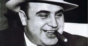 Imagem de Al Capone, gânster americano que foi o criador da lavagem de dinheiro