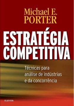 """Capa do livro """"Estratégia Competitiva"""" de Michael Porter"""