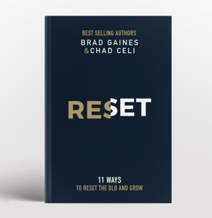 Gaines & Celi: Reset. 11 ways to reset the old and grow