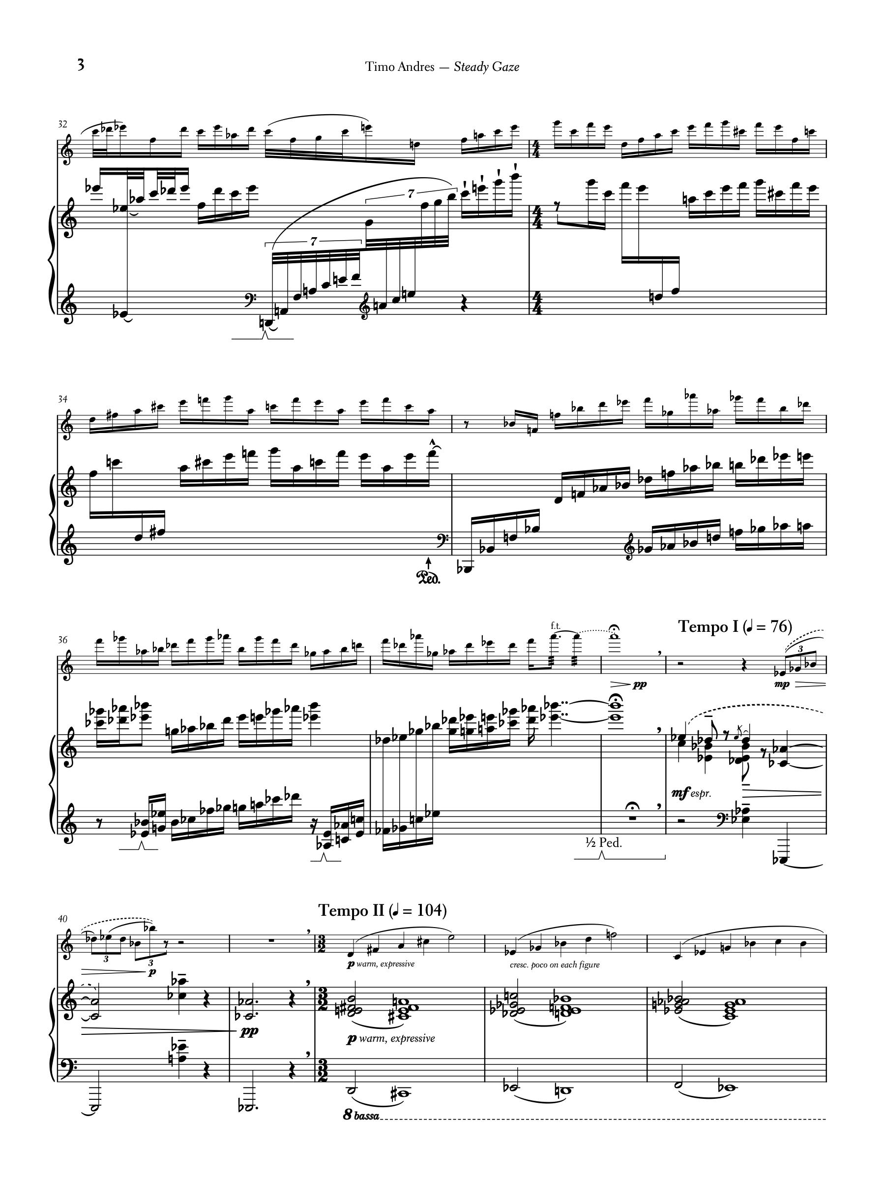 Steady Gaze, p. 3
