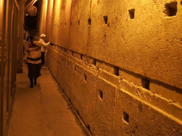 Visita al tunnel con Angela