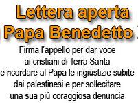 Non dimentichi! Lettera a Benedetto XVI