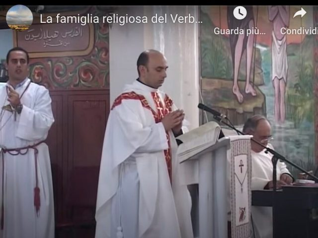 Telepace Holy Land TV: intervista a padre Gabriele
