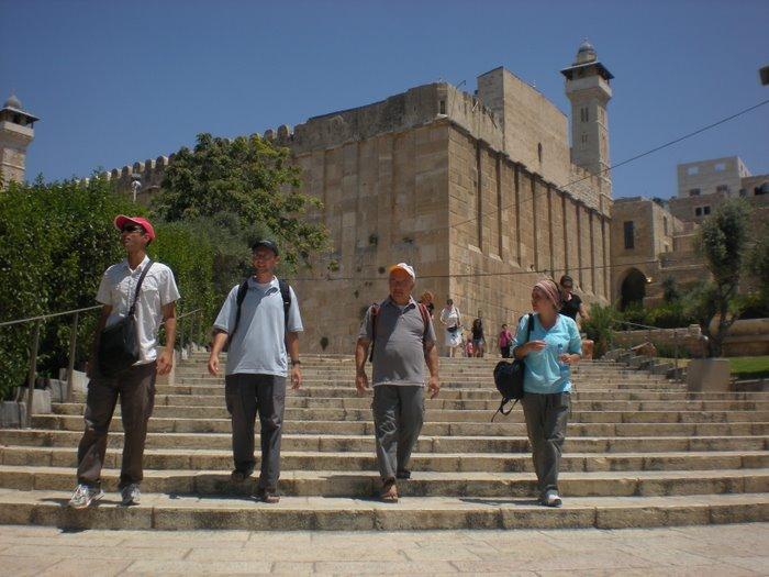 Tomba dei Patriarchi a Hebron