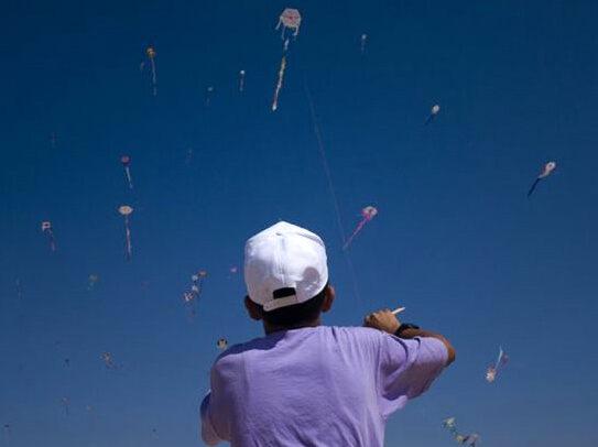Tremila acquiloni sul cielo di Gaza