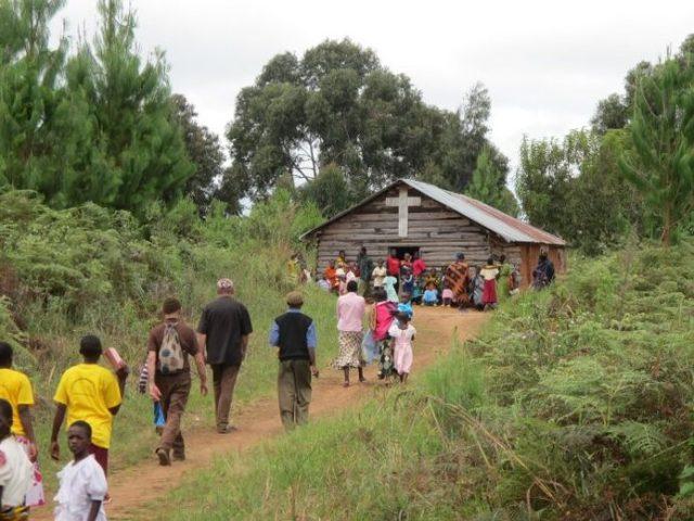In cammino verso Ilogombe