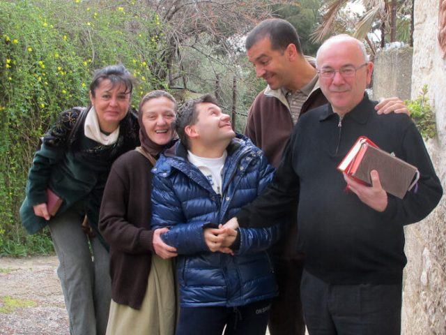 Ciriaco accompagna Lanfranco e i diaconi a Betania