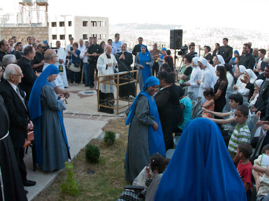 Inaugurazione dell'Hogar Niño Dios