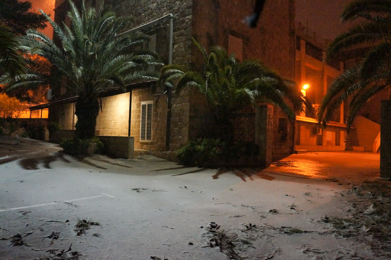 La neve 2013 sta attaccando anche a casa nostra