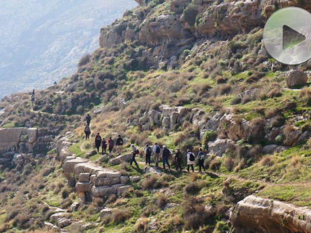 Sulle orme di Karitone – Wadi Tekoa