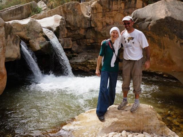Avventurosa camminata tra Ein Prat e Wadi Qelt