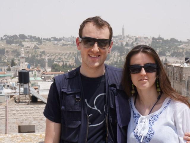 Seba e Lety di nuovo a Gerusalemme!