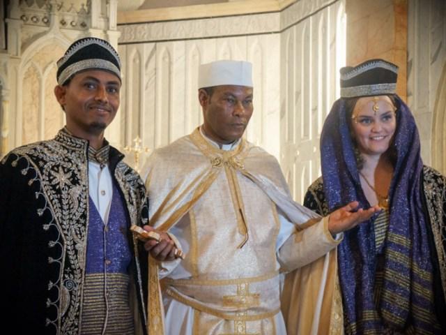 Sposalizio migrante a Jaffa
