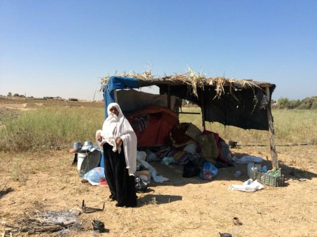 Scuole colorate e cappannette – la visita a Gaza di Lorenzo
