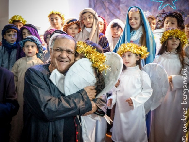 L'angelo del presepio di Gaza