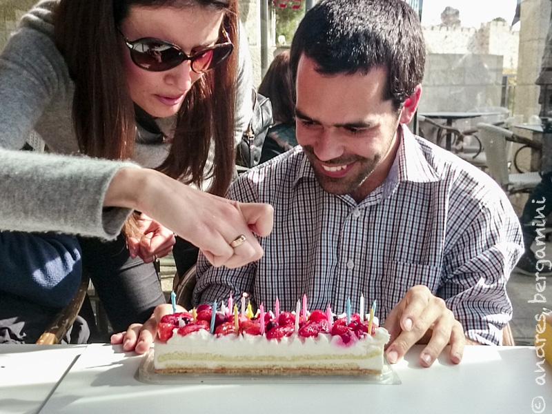 torta di fragole!