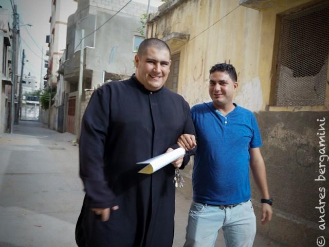 Il cambio di parroco a Gaza